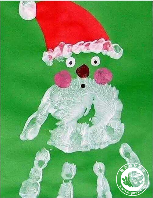 除了铃铛或圣诞树, 小脚印还能变成什么呢?