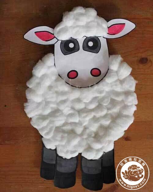 可爱的羊年小手工