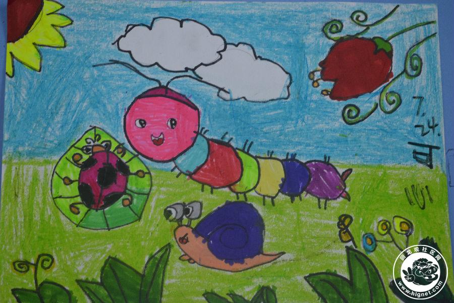 大丰风景儿童画