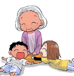 【心心趣事】奶奶你去幼儿园接心心吧!