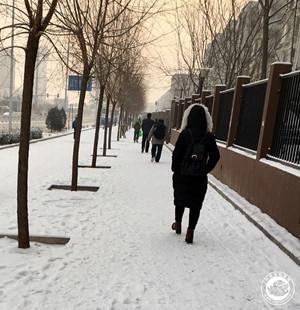 2017年的第一场雪