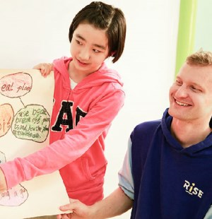 瑞思英语给回龙观的孩子们送来了大礼!