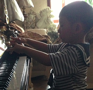回龙观9岁小野猪的学钢琴之路