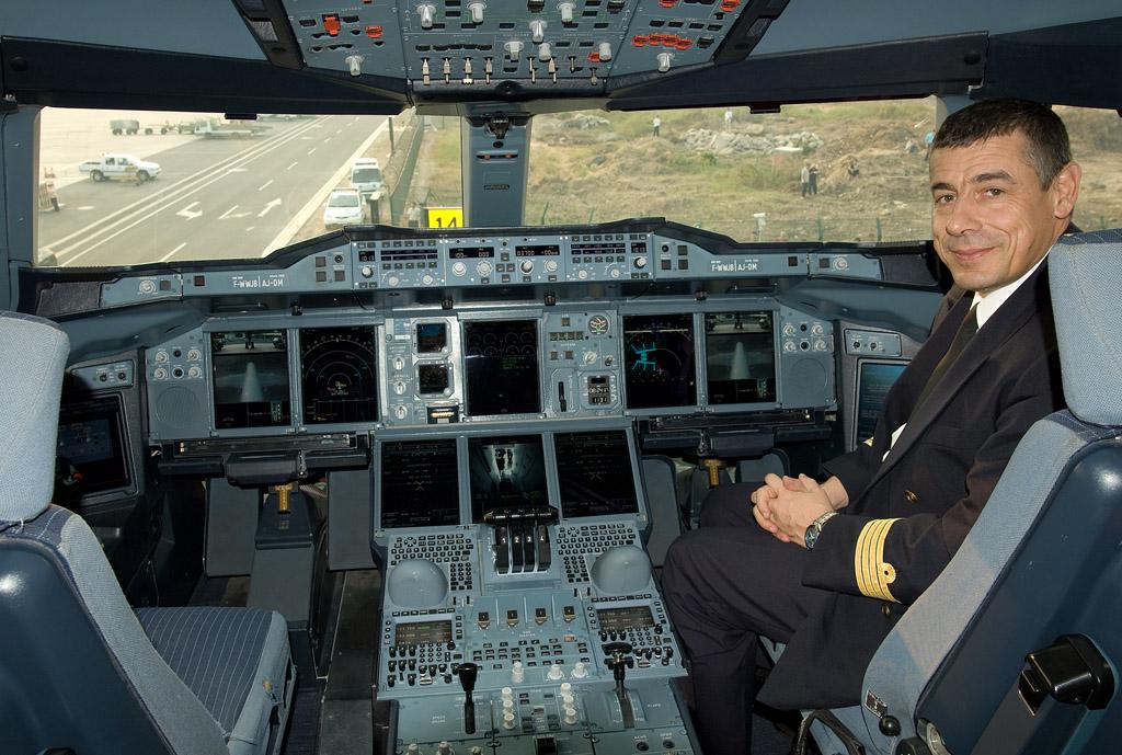 飞机驾驶舱照片