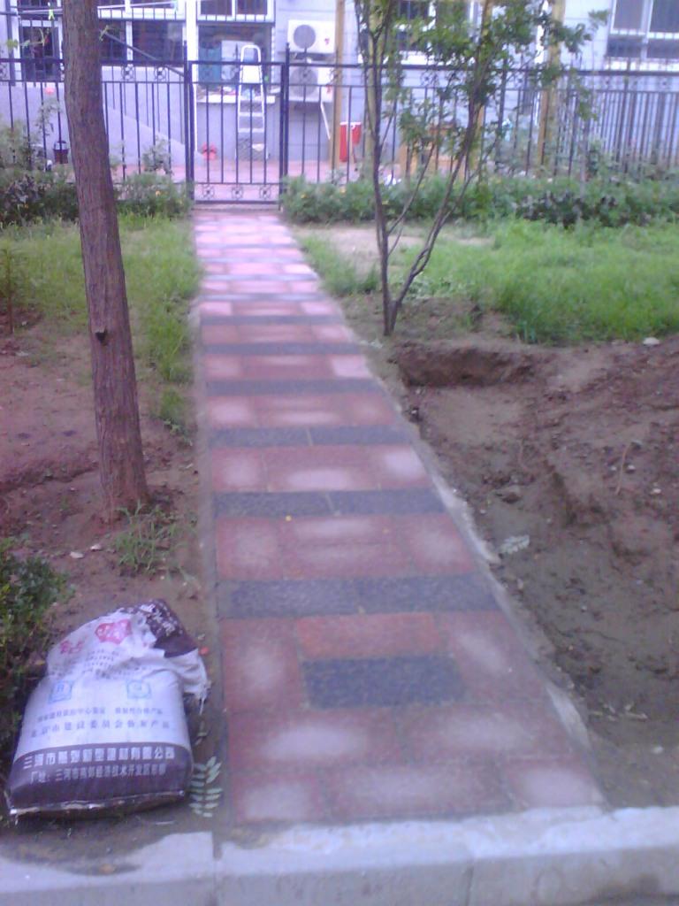 农村家庭小院绿化设计