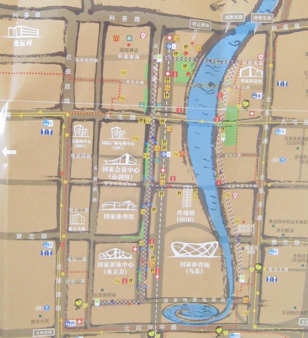 奥林匹克公园导览图