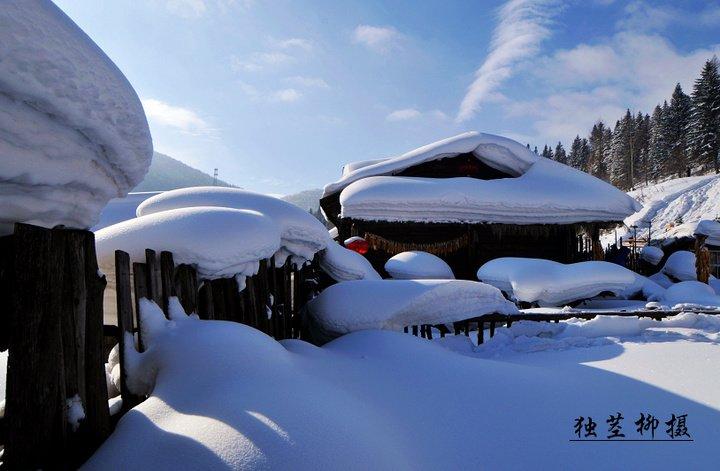 黑龙江齐齐哈尔北270公里雪乡