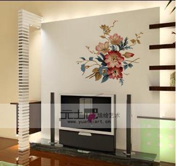 元坭手绘墙画 灵动你的家居空间