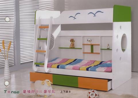 儿童二层床图片