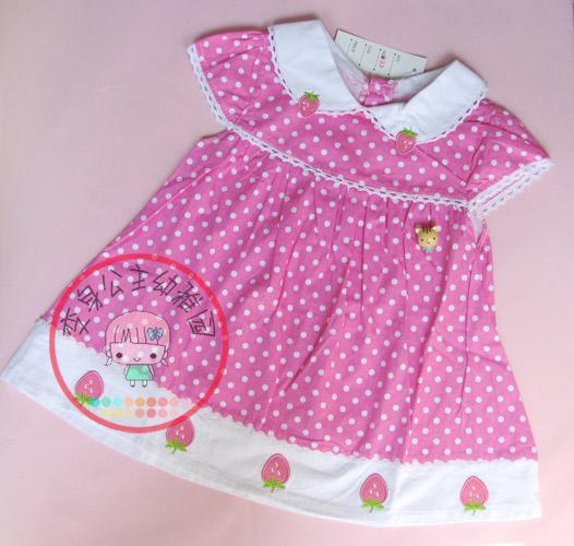 超多可爱女宝宝的夏装小裙子哦