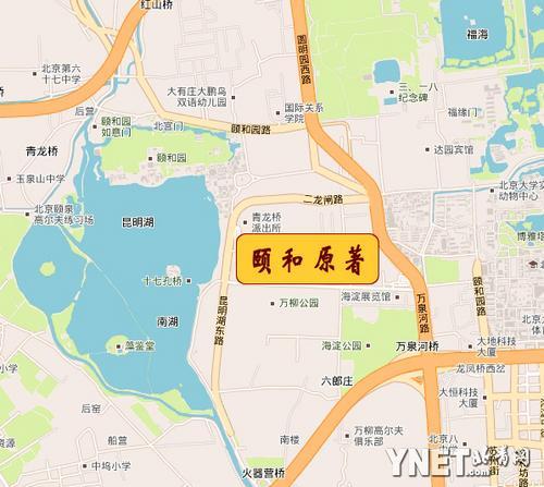 位于清朝康熙,雍正,乾隆所缔造的三大皇家园林(畅春园,圆明园,清漪园
