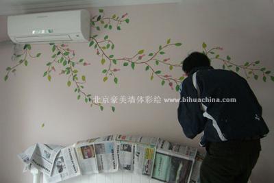 自己画的家具手绘 手绘墙