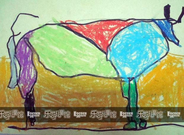 :《毕加索画牛》    接下来的两个星期毕加索在画牛.