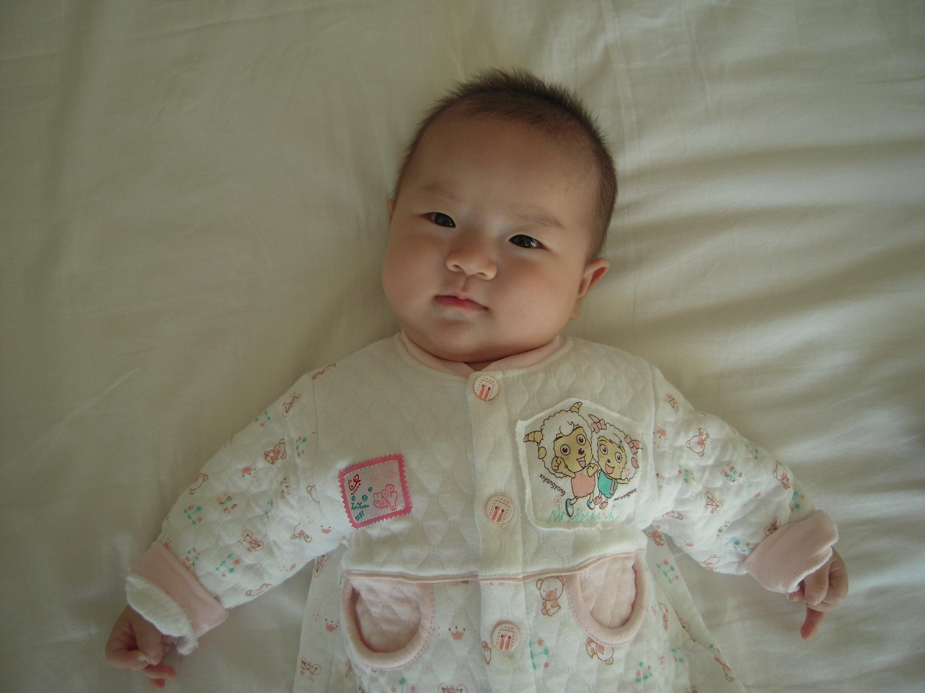 发我家龙凤宝宝的照片了!