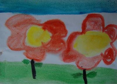 幼儿水粉画.
