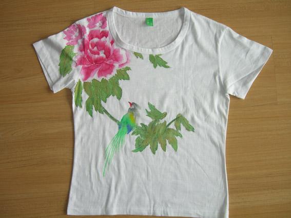 中国风手绘衣服