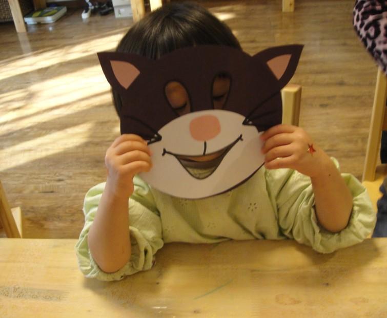 幼儿园手工制作面具大全