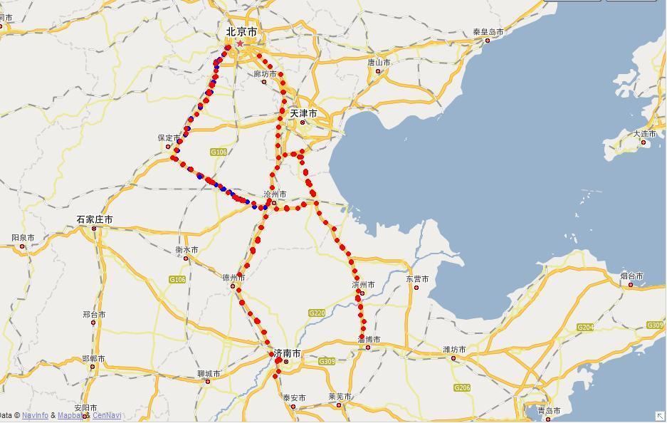 中国地图高速路