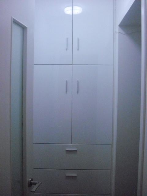 木工做的柜子令业主非常满意