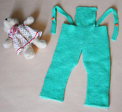 2,全新手工编织纯毛线宝宝毛线背带裤,0-2岁宝宝,8元