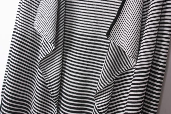 销售,看中一款黑白条纹开衫款型质量都不错,35一件算是白菜吧,