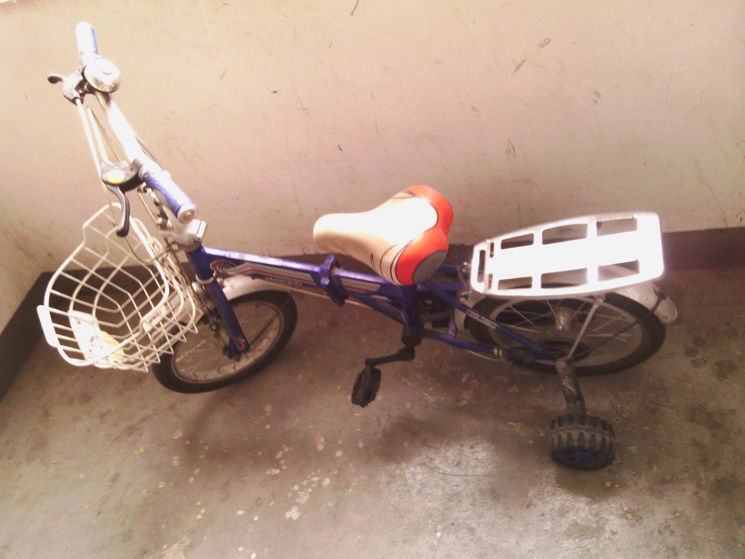 14寸飞鸽可折叠儿童自行车