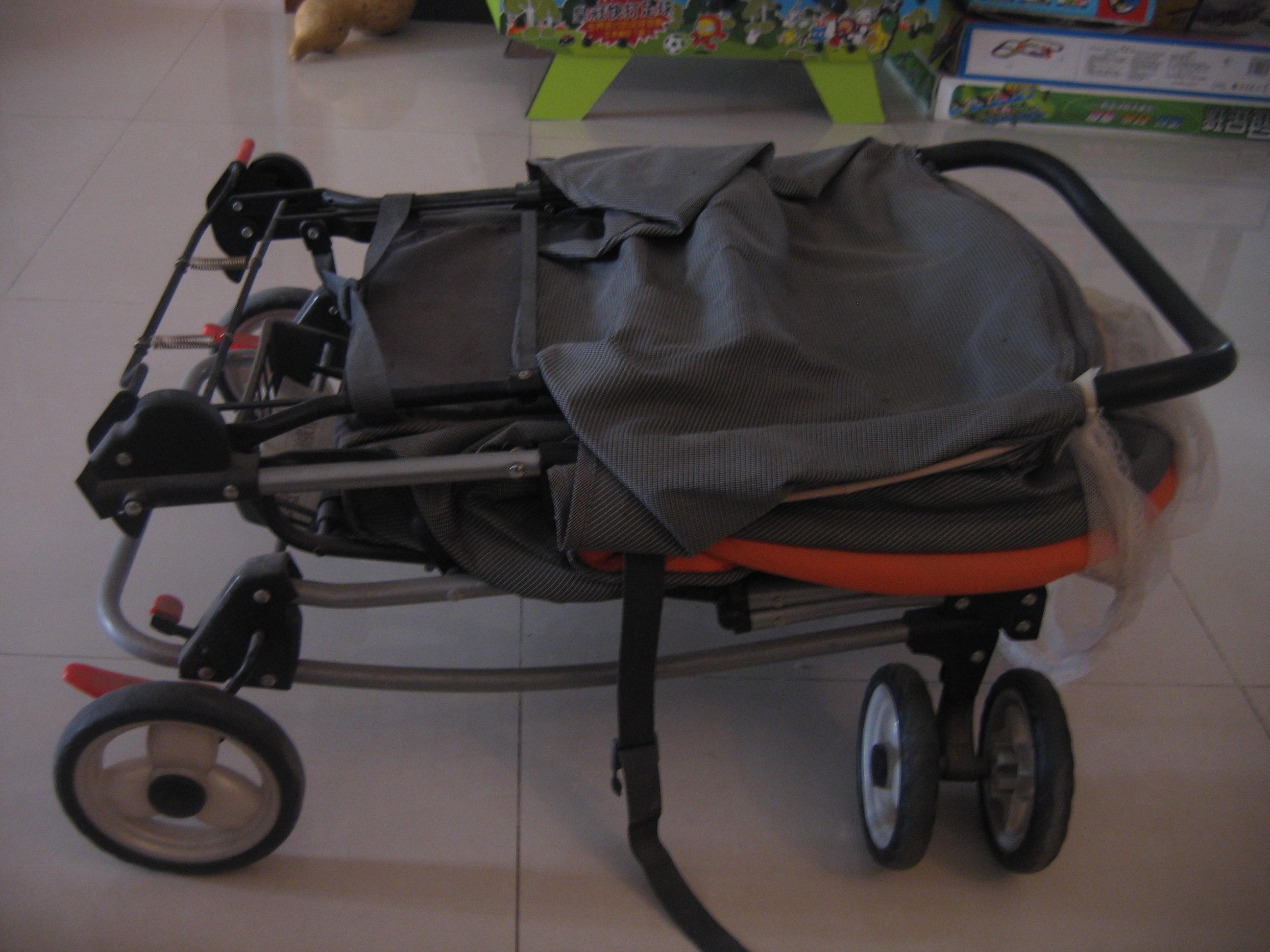 [9成新]好孩子婴儿车; 好孩子婴儿车折叠图图片大全下载;