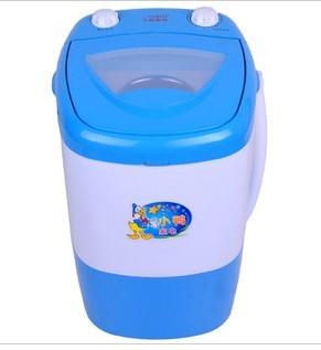 转小鸭迷你半自动单桶洗衣机