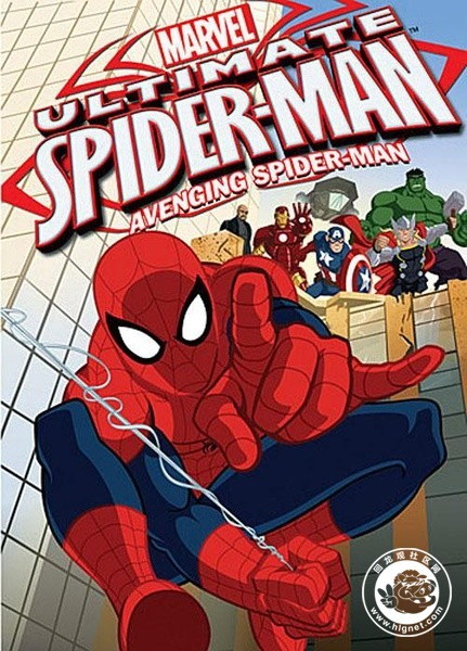动画片中的蜘蛛侠看点多多,各种萌各种可爱,虽然是戴着面具的脸,但