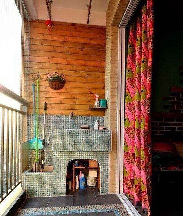 阳台用来晾衣服是不是太浪费 最完整小户型阳台改造