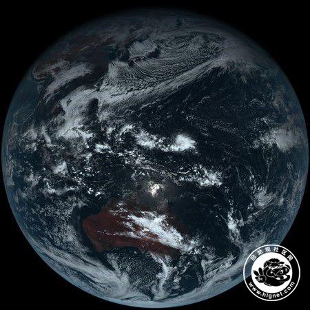 地球素颜照震撼曝光!原来地球上这样子的