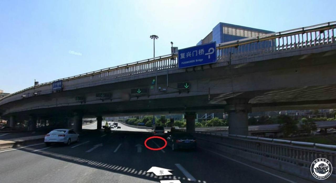 标题:天宁寺桥西向东去西北二环.