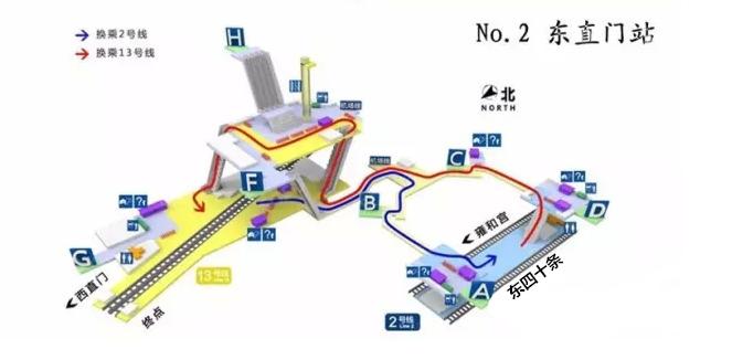 北京迷宫地铁站top10大排行