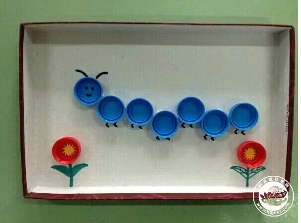 塑料瓶盖的创意