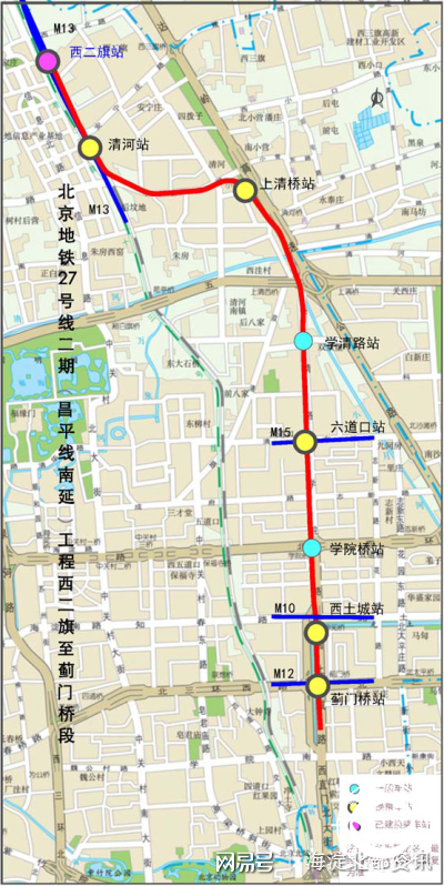 房山城铁南延规划图_与回龙观相关的这三条地铁规划全清楚了~坐等开通!_回龙观社区网