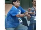 老马气疯了![呲牙] 当地时间2018年6月21日,俄罗斯下诺夫哥罗德,2018世界杯小组赛D,阿根廷0:3克罗地亚。阿根廷遭血洗马拉多纳失望不已。