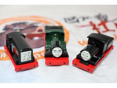 托马斯小火车玩具三个