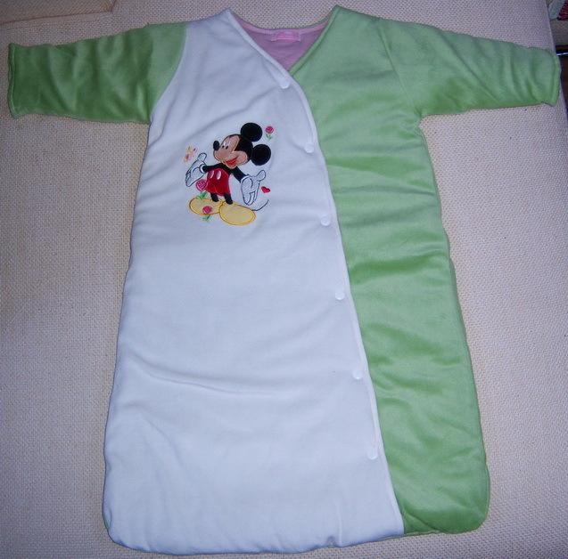 自制婴儿背心睡袋图解