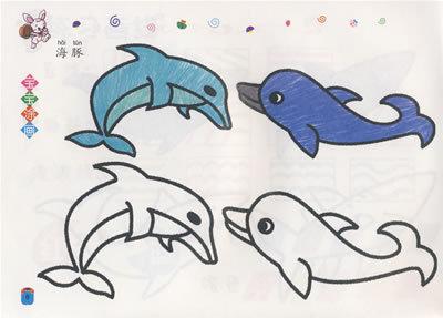 小手涂画:动物 - 儿童美术/儿童读物/图书音像