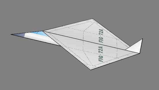 纸飞机的折法吗?