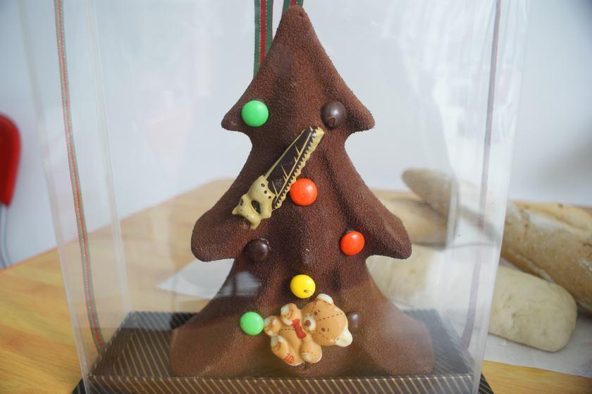 巧克力圣诞树!