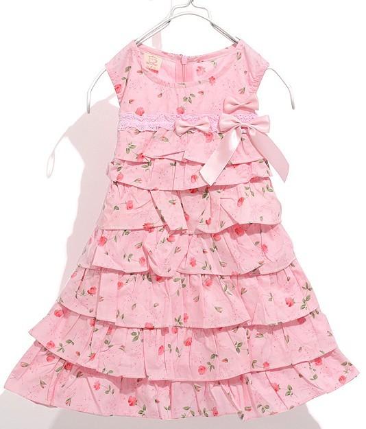 美丽裙子设计图-漂亮儿童长裙图片