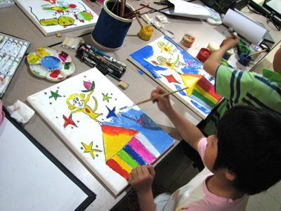 让想象力迸发的儿童美术特色课程!图片
