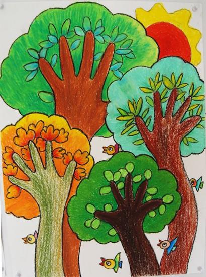 5岁儿童美术班免费试听图片