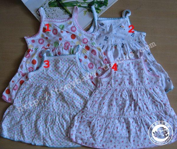 宝宝小裙子编织时尚不规则背心