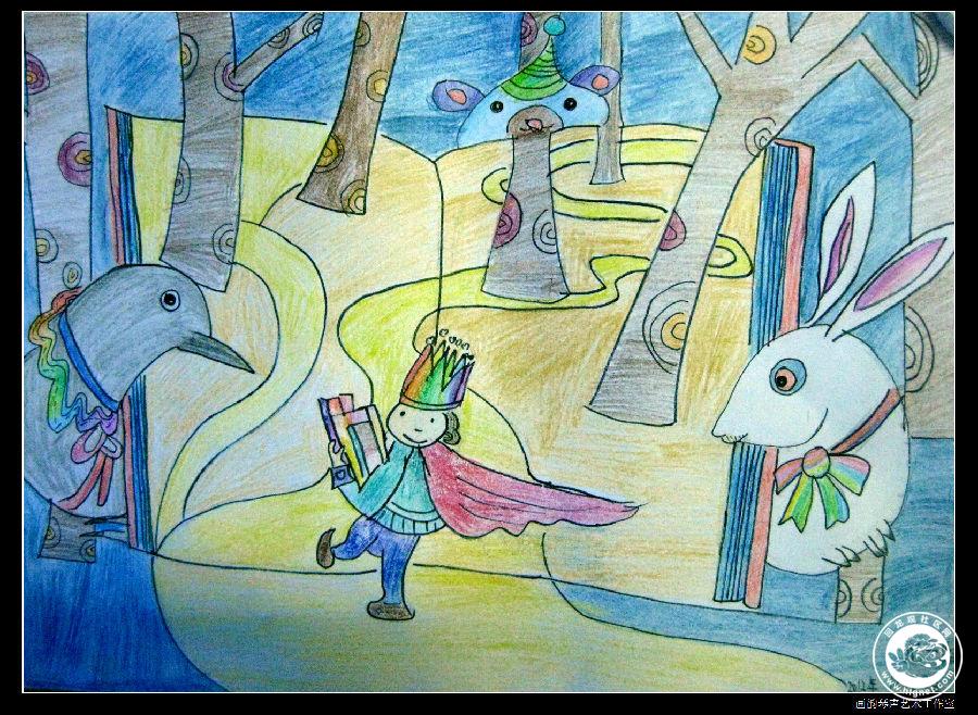 幼儿园冬天创意美术作品
