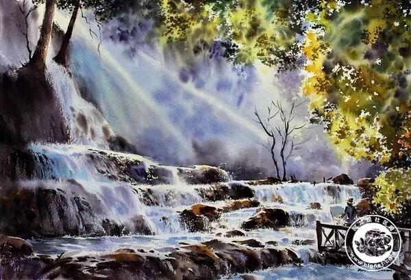 壁纸 风景 旅游 瀑布 山水 桌面 600_409