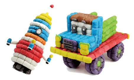正品魔法玉米600粒儿童手工diy益智玩具