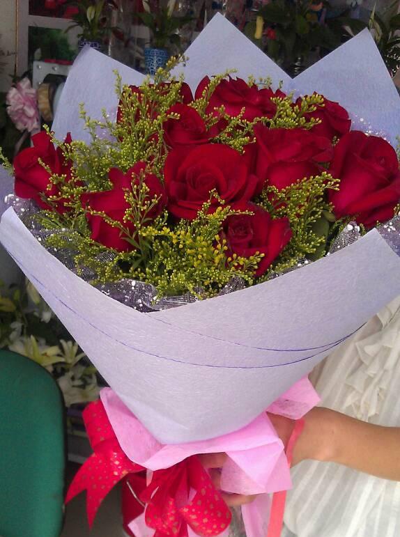 皱纸红玫瑰花步骤图解