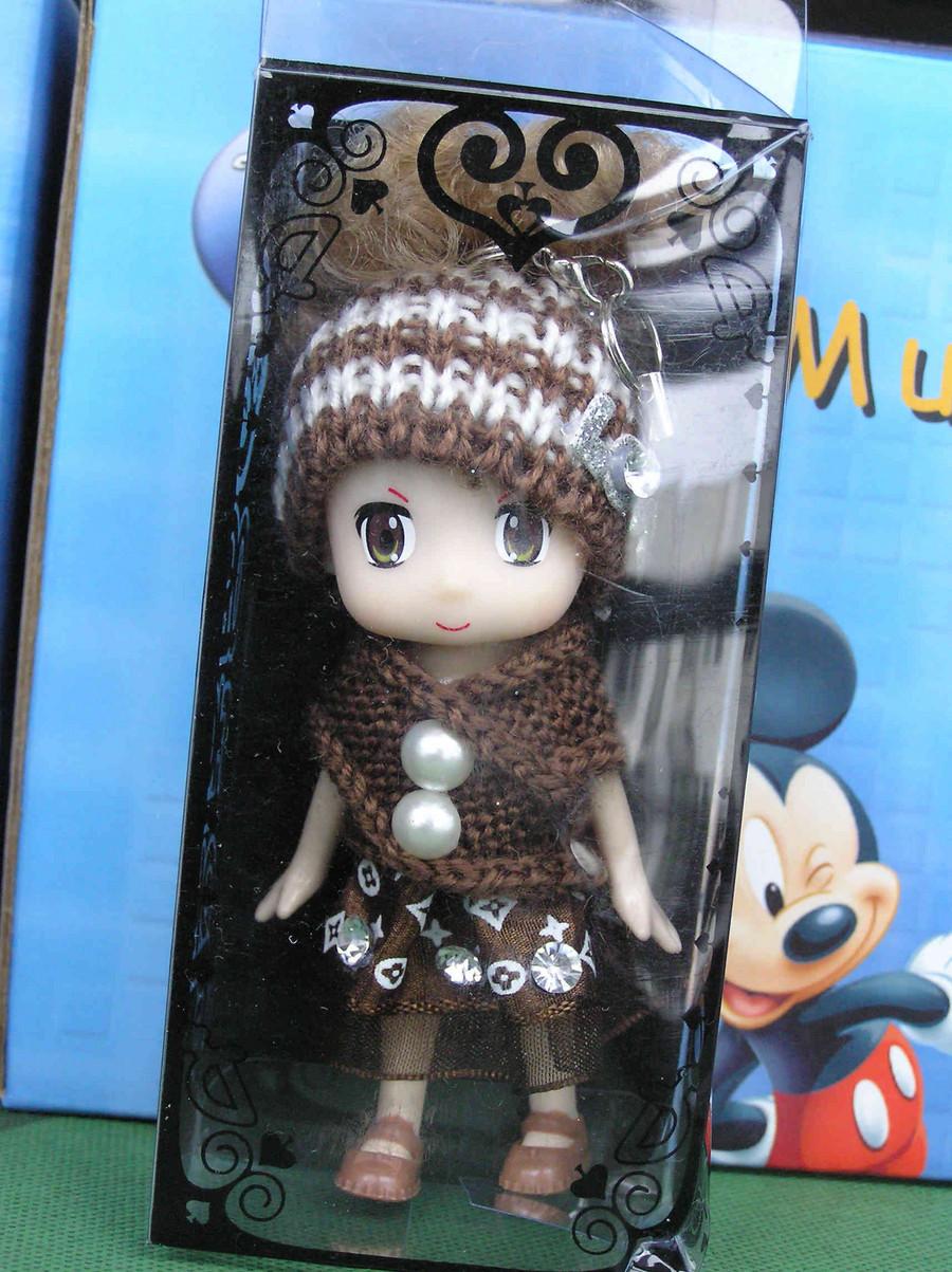 韩国可爱的奇梦娃娃 迷糊娃 手机包包挂件